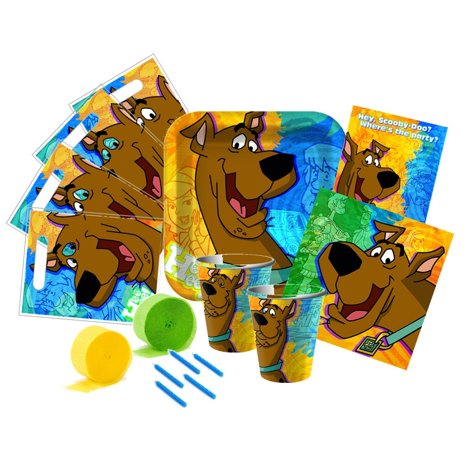 Scoobydoo Mod Mystery Party Pack This Started Animal