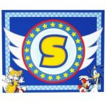 SONIC the HEDGEHOG PLACEMATS