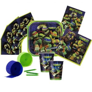 TEENAGE MUTANT NINJA TURTLES PARTY PACK-1