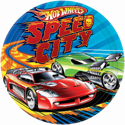 HOT WHEELS DINNER PLATES | This Party Started