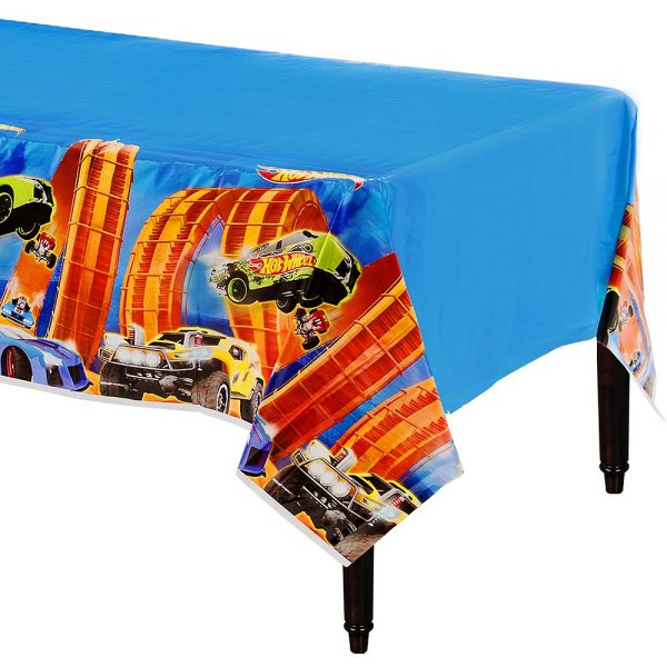 Hot Wheels Table Cover