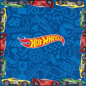 Hot Wheels Wild Racer Lunch Napkins