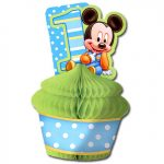 MICKEYS 1ST BIRTHDAY CENTERPIECE