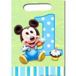 MICKEYS 1ST BIRTHDAY TREAT SACKS