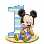 MICKEYS 1st BIRTHDAY CAKE IMAGE