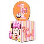 MINNIES 1ST BIRTHDAY TREAT BOXES