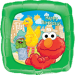 SESAME STREET 18in FOIL BALLOON