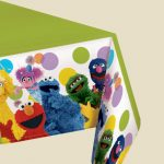 SESAME STREET PARTY TABLECOVER