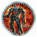 Transformers 3 Dinner Plates