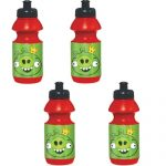 ANGRY BIRDS DRINK BOTTLES- 4 PACK