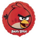 ANGRY BIRDS RED BIRD FOIL BALLOON 18in