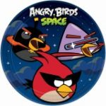 ANGRY BIRDS SPACE DINNER PLATES