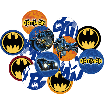 Batman Heroes And Villains Confetti This Party Started