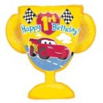 CARS 1st BIRTHDAY JUMBO FOIL BALLOON