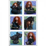 DISNEYS BRAVE STICKERS