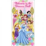 DISNEYS FANCIFUL PRINCESS DOOR BANNER