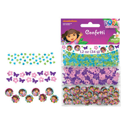 DORA'S FLOWER ADVENTURE CONFETTI
