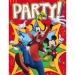 Disney Mickey Fun and Friends Invitations