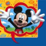 Disney Mickey Fun and Friends Lunch Napkins