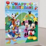 Disney Mickey Mouse Scene Setter Decoration Set