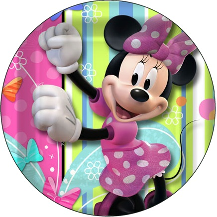 Minnie Bows Cake Icing Image This Party Started