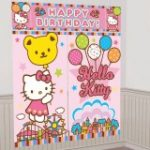 HELLO KITTY SCENE SETTER DECORATION SET