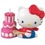 HELLO KITTY SHAPED CANDLE