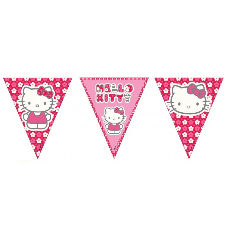 Hello Kitty Banner This Party Started