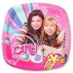 ICARLY DESSERT POCKET PLATES