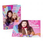 ICARLY INVITES and THANK YOUS