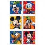 MICKEY FUN and FRIENDS STICKER SHEETS