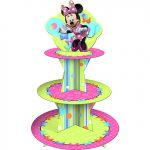 MINNIE BOWS TIERED CUPCAKE STAND