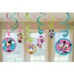 MINNIE MOUSE HANGING SWIRLS DECORATION