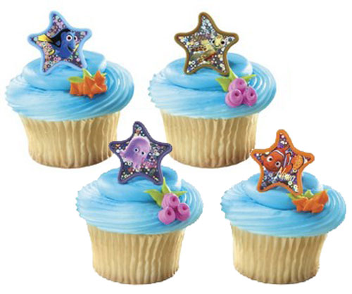 Nemos Coral Reef Starfish Cupcake Rings This Party Started