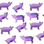 PINK PIG CONFETTI