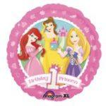 PRINCESS 1st BIRTHDAY FOIL BALLOON