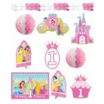 PRINCESS 1st BIRTHDAY ROOM DECORATING KIT