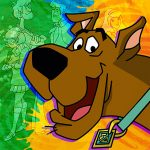 SCOOBYDOO MOD MYSTERY LUNCH NAPKINS