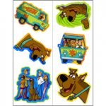 SCOOBYDOO MOD MYSTERY TATTOO SHEETS