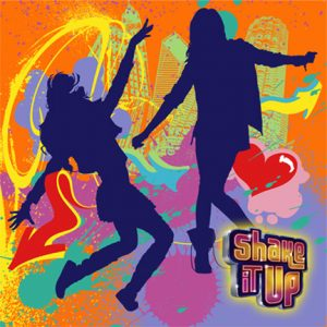 SHAKE IT UP BEVERAGE NAPKINS