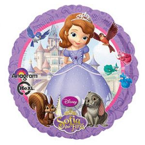 SOFIA THE 1ST MYLAR BALLOON