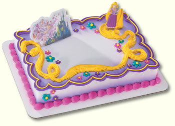 TANGLED CAKE TOPPER KIT