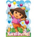 DORA and FRIENDS INVITATIONS
