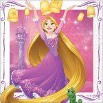 Tangled Rapunzel Beverage Napkins