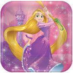 Tangled Rapunzel Lunch Plates