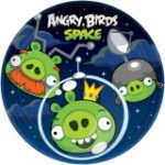 ANGRY BIRDS SPACE DESSERT PLATES