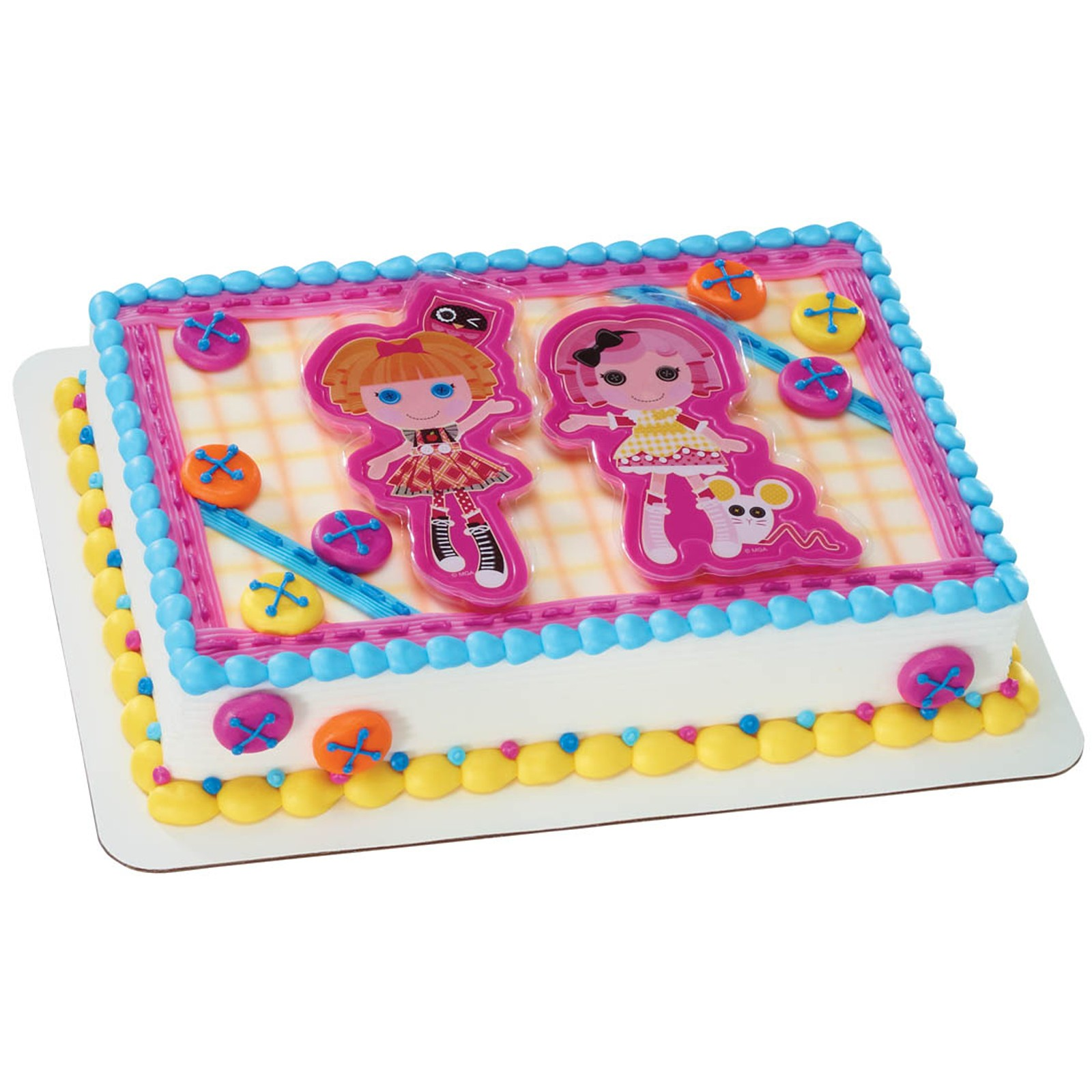 LALALOOPSY CAKE TOPPER Or COOKIE CUTTER