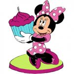 MINNIE DREAM PARTY BIRTHDAY CANDLE
