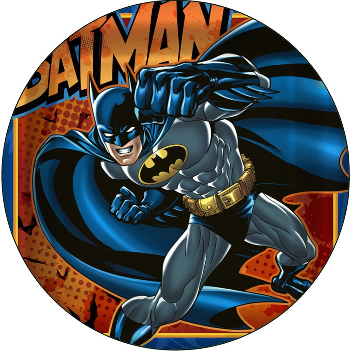Batman Cake Icing Image This Party Started