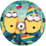 DESPICABLE ME 2 CAKE ICING IMAGE